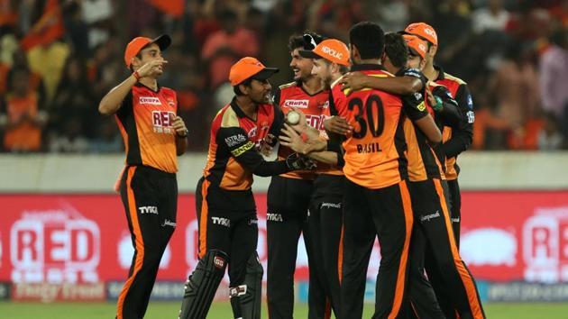 Sunrisers Hyderabad won against Kings XI Punjab by 13 runs at Uppal. Get highlights of Sunrisers Hyderabad vs Kings XI Punjab here.(BCCI)
