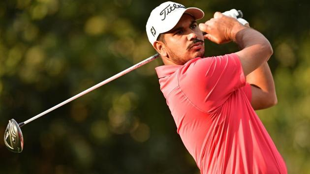 Gaganjeet Bhullar was the best Indian despite a sharp fall in the second round of China Open golf in Beijing on Friday.(Getty Images)