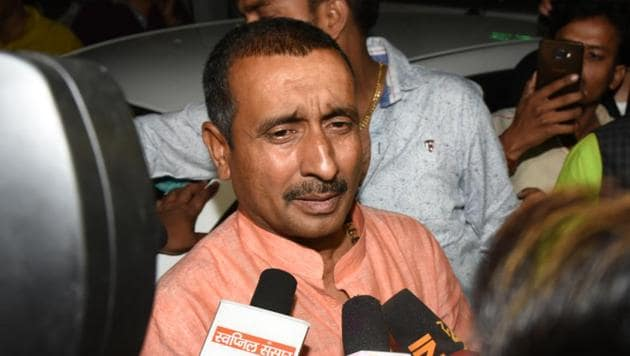 The CBI has decided to subject BJP MLA Kuldeep Sengar to a potency test at the All India Institute of Medical Sciences, New Delhi, in connection with the case.(Subhankar Chakraborty/HT PHOTO)
