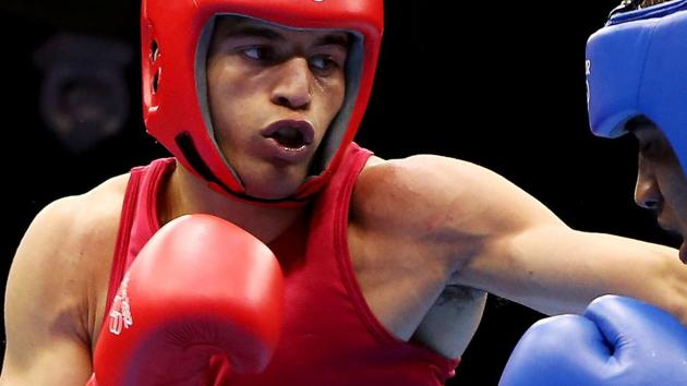 Sumit Sangwan, an Olympian and a bronze-medallist from the India Open in January, will take on Greece's Vagka Nanitzanian in the semifinal of the Belgrade International boxing tournament.(Getty Images)