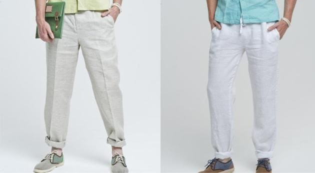 Brave the summer heat in style with added comfort by dressing up in breathable fabrics like linen and chambray.(Shutterstock)