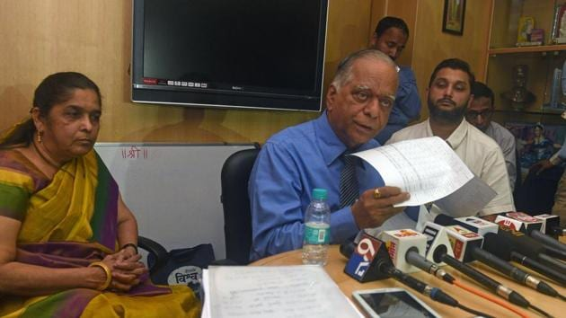 """FD Jadhav, deputy secretary of Maha-Rera, Pune, said, """"For over a month, DSK's lawyers have not appeared in court. We have sent a legal notice to DSK seeking a reply on the issue.""""(HT FILE Photo)"""