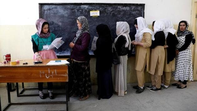 The complex process of registering voters at more than 7,000 centres around Afghanistan began this month in 34 provincial capitals, with district centres and villages due to begin next month.(Reuters File Photo)