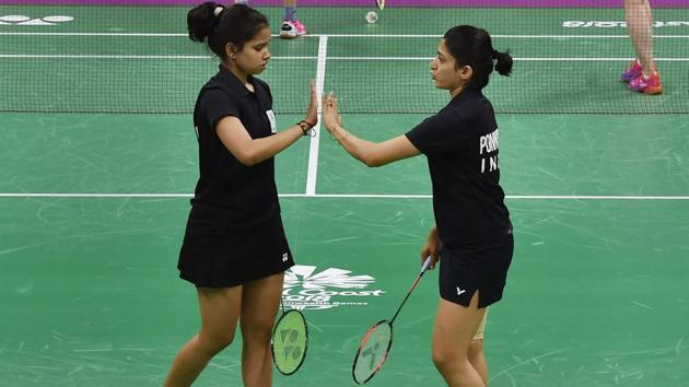 N Sikki Reddy (L) has done consistently well in doubles badminton in the last few years.(PTI)