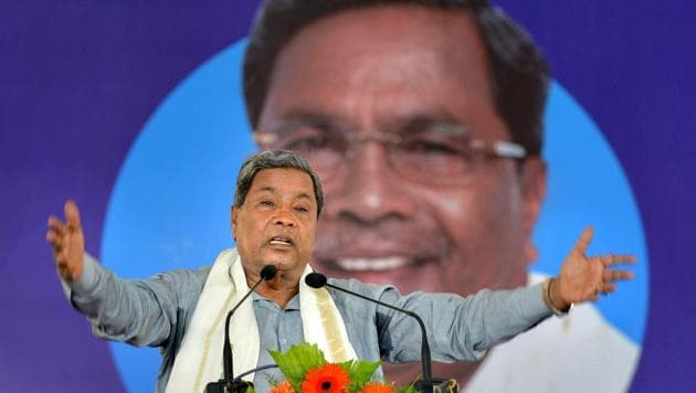Badami is the second seat from where Karnataka chief minister Siddaramiah is contesting in upcoming assembly election.(PTI File Photo)