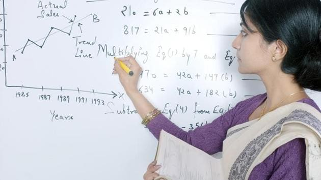 So far, at the entry level, the minimum eligibility requirement for an assistant professor was that they should have cleared the National Eligibility Test (NET) and have a Masters degree.(Getty Images/iStockphoto)