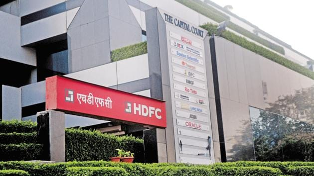 On a standalone basis, HDFC posted 39.23% rise in net profit at Rs 2,846.22 crore in the reported quarter as compared to Rs 2,044.2 crore earlier.(Pradeep Gaur/ Mint)