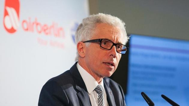 Wolfgang Prock-Schauer speaks during a news conference in Berlin.(Bloomberg File Photo)