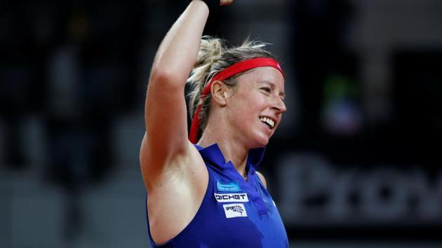 Pauline Parmentier took just two hours 13 minutes to beat Polona Hercog in the final of Istanbul Open.(REUTERS)