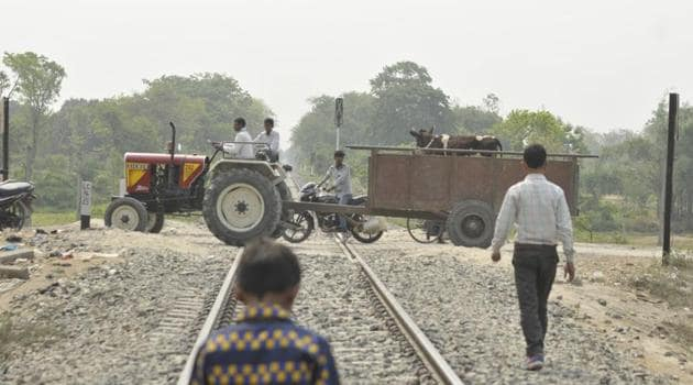 The state has over 800 unmanned railway crossings that are yet to see closure or transformation into manned crossings.(File Photo)