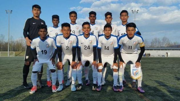 The Indian U-16 football team will face Jordan, Tajikistan and hosts Serbia in the four-nation exposure trip tournament.(AIFF)