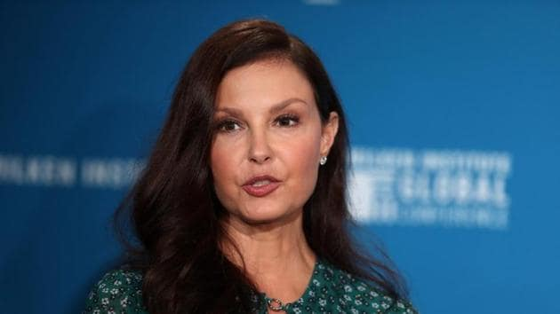 Actress Ashley Judd speaks at the Milken Institute's 21st Global Conference in Beverly Hills, California.(REUTERS)