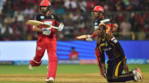 The M Chinnaswamy Stadium in Bangalore hosts the Royal Challengers Bangalore's home matches in Indian Premier League (IPL) 2018.(PTI)