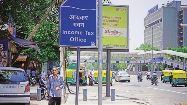 09 July, 2014, New Delhi : Income tax office near ITO. Photo By Pradeep Gaur/ Mint(Pradeep Gaur/ Mint)