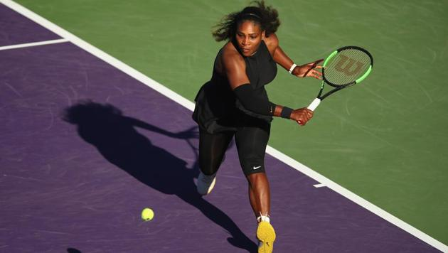 Despite her difficult return to action, Serena Williams is registered on the entry list for the French Open in June, with Wimbledon scheduled to get underway one month later.(AFP)
