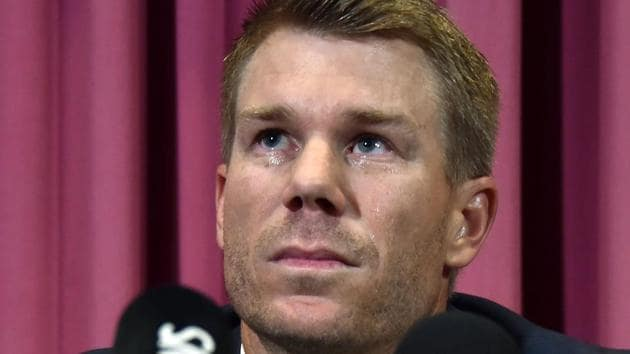 David Warner was banned for 12 months following his involvement in ball tampering scandal.(AFP)