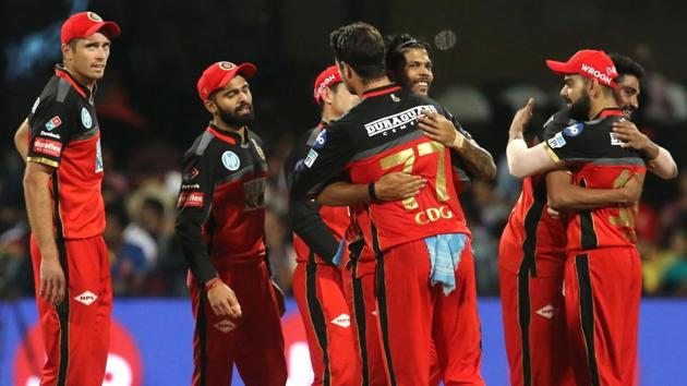 Royal Challengers Bangalore (RCB) registered a much-needed 14-run win in the IPL 2018 vs Mumbai Indians at the M. Chinnaswamy Stadium on Tuesday.(BCCI)