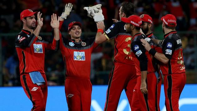 Get highlights of Mumbai Indians (MI) vs Royal Challengers Bangalore (RCB), IPL 2018 game, here. RCB defeated MI by 14 runs.(BCCI)