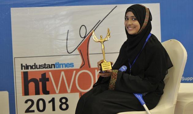 HT Woman 2018 Dr Roshan Jahan.(HT Photo)