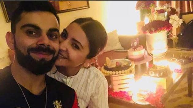Anushka Sharma celebrated her 30th birthday with husband Virat Kohli in Bengaluru on Tuesday.(Anushkasharma/Instagram)