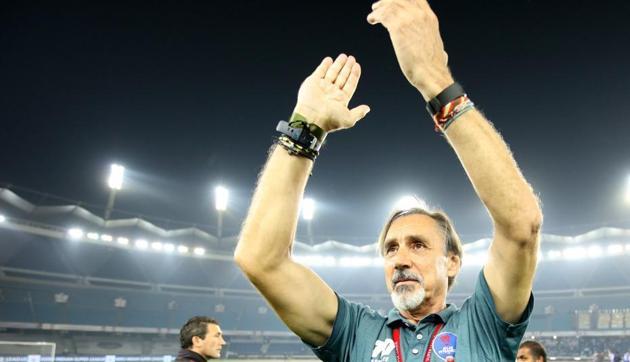 Miguel Angel Portugal was Delhi's fourth coach in four seasons of the Indian Super League (ISL).(Delhi Dynamos)