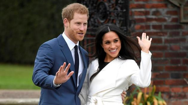 Meghan Markle and Prince Harry will be married on May 19 this year.(Reuters)