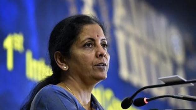 Defence minister Nirmala Sitharaman.(PTI file photo)