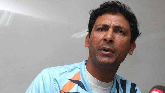 Harendra Singh has been named the new coach of the Indian hockey team.(HT Photo)