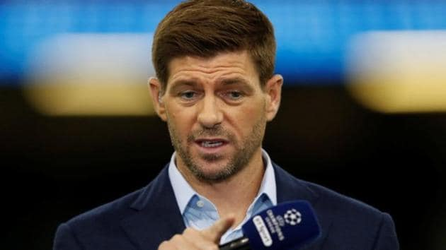 Steven Gerrard could take up the Glasgow Ranger manager post left vacant by Graeme Murty who was sacked following Sunday's 0-5 thrashing the team suffered at the hands of rivals Celtic in the Scottish Premiership.(REUTERS)