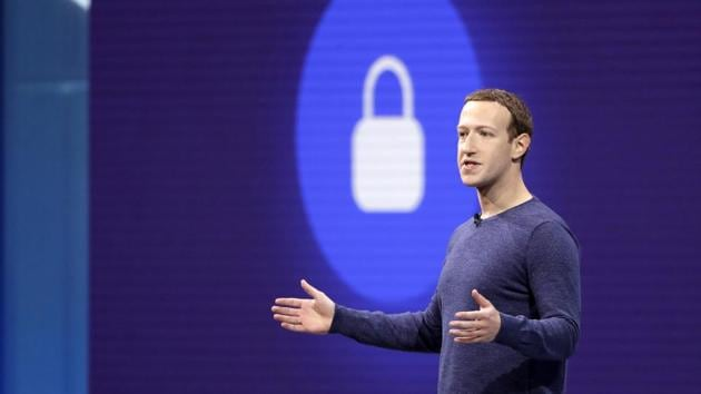 """At the social media giant's annual developer conference, Zuckerberg said: """"We want Facebook to be somewhere where you can start meaningful relationships.""""(AP Photo)"""