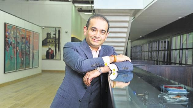 The over Rs 13,000-crore fraud in the Punjab National Bank (PNB) allegedly committed by diamantaire Nirav Modi (in pic) and his uncle Mehul Choksi, the promoter of Gitanjali Gems, is among the most prominent bank frauds reported recently.(Aniruddha Chowdhury/Mint)