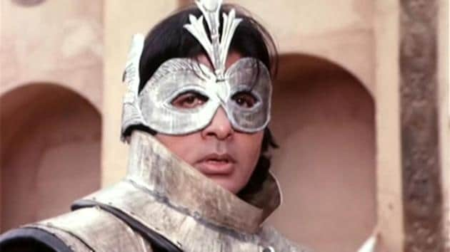 Amitabh Bachchan in and as Ajooba.