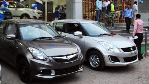 Chandigarh administration will allow registration of vehicles at dealers' end from May 15.(HT File)