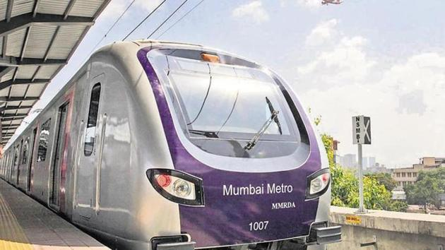 The Mumbai Metro Rail Corporation Limited (MMRCL) on Wednesday assured the Bombay high court that it will not start any work relating to Metro-2B line at ESIC Nagar in Andheri (West).(HT File (Representational Image))