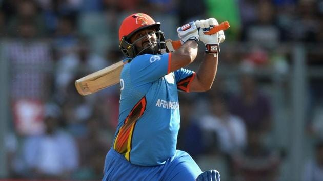 Afghanistan wicketkeeper-batsman Mohammad Shahzad has made a name for himself for his big-hitting prowess.(Getty Images,)