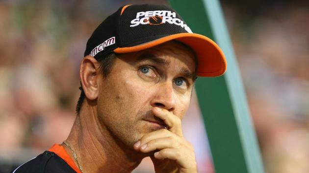 Justin Langer was appointed head coach of the Australia cricket team on Thursday. He replaced Darren Lehmann after the ball-tampering scandal.(Getty Images)
