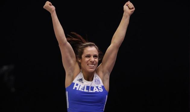 Greece's Katerina Stefanidi has spoken out against IAAF's latest rule changes.(AP)