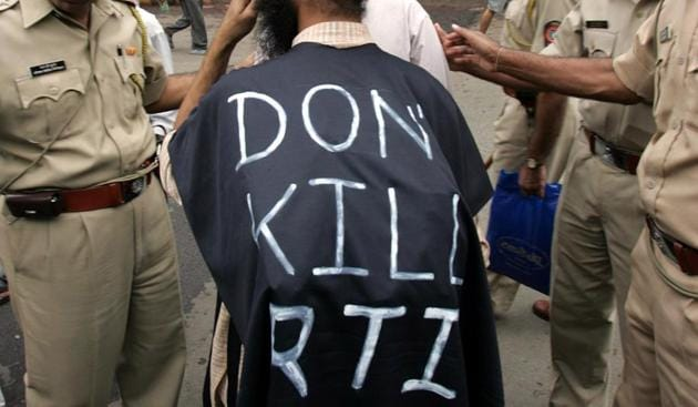 RTI users say the first roadblock in most cases are the information officers, who either don't respond or provide incomplete information.(HT File Photo)