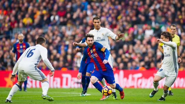 Barcelona and Real Madrid will face off in the final El Clasico of the season on Sunday.(Getty Images)