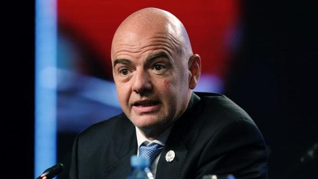 European leagues aren't yet on board with FIFA president Gianni Infantino's proposals for more international competitions.(AP)