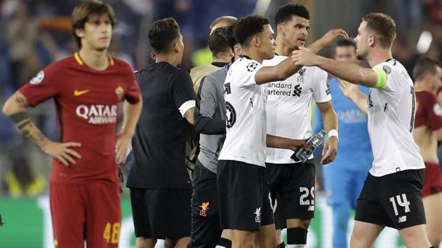 Liverpool FC Hold Off Brave AS Roma To Reach UEFA