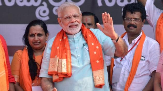 BJP insiders opine it would not be politically prudent for PM Narendra Modi to visit Pakistan in the run up to the elections.(PTI)