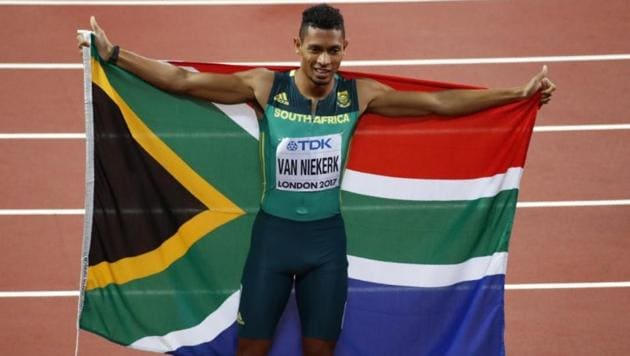 Olympic champion Wayde van Niekerk of South Africa is planning a comeback in July(Reuters)