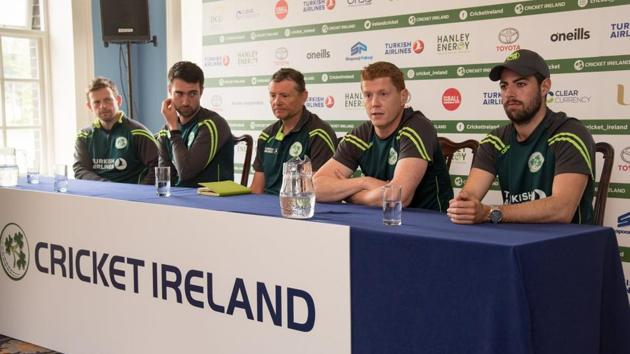 Ireland will be playing their debut Test match against Pakistan next week.(Cricket Ireland/Twitter)