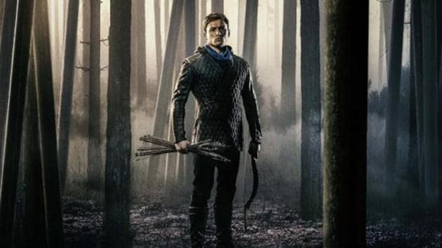 The new Robin Hood movie comes eight years after Ridley Scott and Russell Crowe's take on the classic character.