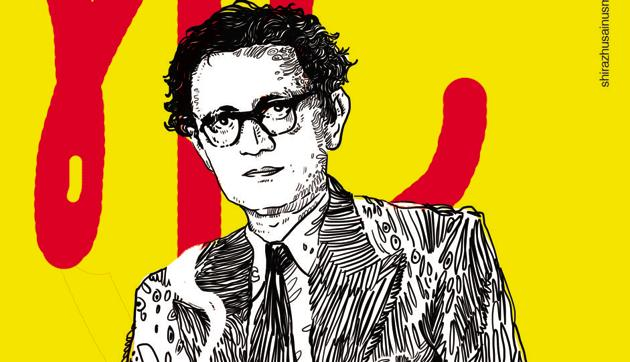 Writer Saadat Hasan Manto on a poster(Photo courtesy: Khwaab Tanha Collective)