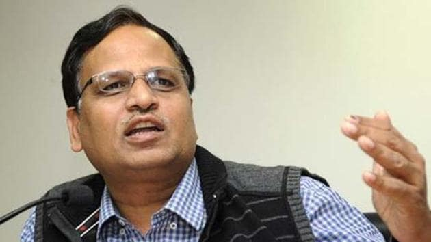 Delhi health minister Satyendar Jain said twenty-one samples were found to be sub-standard.(HT File Photo)