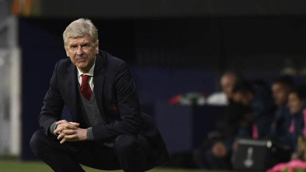 Arsene Wenger failed to win a European trophy in his 22-year reign at Arsenal(AFP)