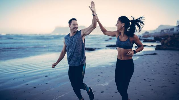 Is exercising together the right decision for you?(Getty Images/iStockphoto)