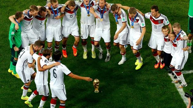 In between the poor performances in the early 2000s and the triumph at 2014 FIFA World Cup in Brazil, German football looked into the mirror, realised its mistakes and took a U-turn for the good.(Getty Images)
